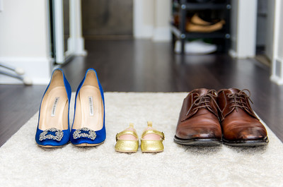 Pairs of shoes of different sizes