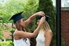 Fixing the graduation cap