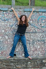 "Nina Assimakopoulos posing for photos at Dorsey Knob................to purchase - <a href=""http://goo.gl/VmqH6c"">http://goo.gl/VmqH6c</a>"