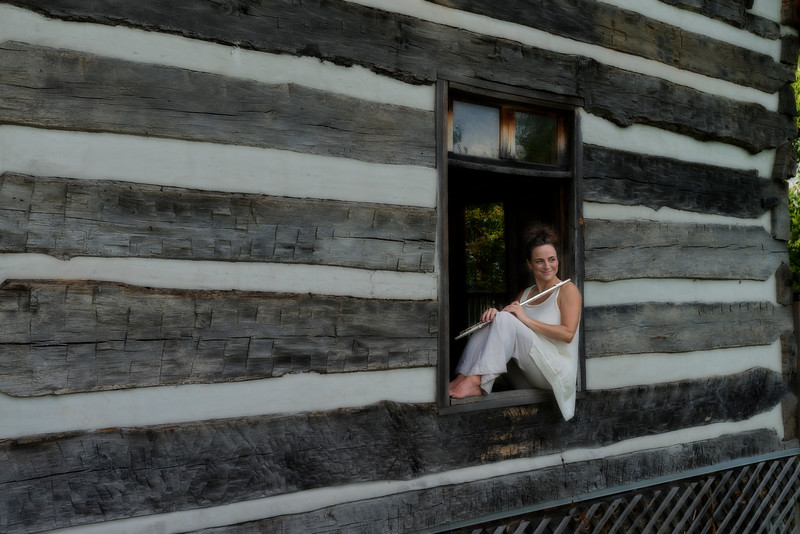 """Nina Assimakopoulos posing for photos at Dorsey Knob........................to purchase - <a href=""""http://goo.gl/zbclZr"""">http://goo.gl/zbclZr</a>"""