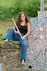 "Nina Assimakopoulos posing for photos at Dorsey Knob.........................to purcvhase - <a href=""http://goo.gl/xZDHzy"">http://goo.gl/xZDHzy</a>"