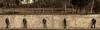 Nina at the wall