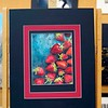 """BEN GARVER — THE BERKSHIRE EAGLE<br /> """"Strawberries"""" is a drawing by Claire Lynch,  Grade 11, of Lenox Memorial High School. The Norman Rockwell Museum is hosting the 33rd Annual Berkshire County High School Art Show."""