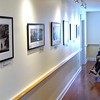 BEN GARVER – THE BERKSHIRE EAGLE<br /> Photographers Dan Mead and Sally Eagle have an exhibition with sculptor Peter Barrett at Kimbal Farms Life Care in Lenox.