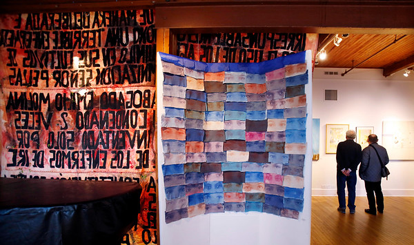 Berkshire Art Association's juried art show, 'The Othering' at the Lichtenstein Center-110416