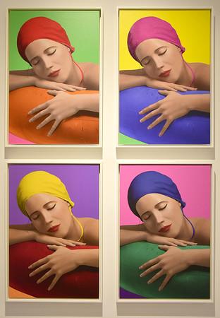 Carole Feuerman exhibit - 071718