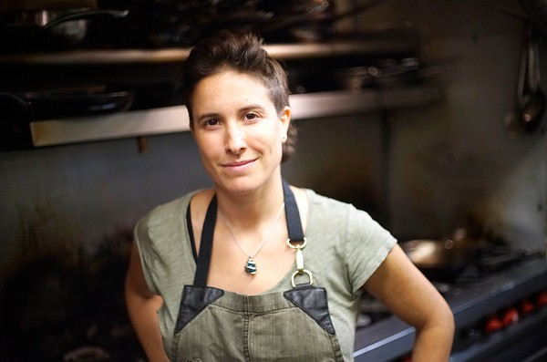BEN GARVER — THE BERKSHIRE EAGLE<br /> Chef Laurel Barkan of the Stagecoach Tavern in Sheffield creates wonderful meals with whole and sustainable foods.