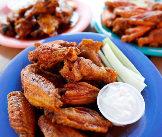 Chicken Wings at Olde Forge Restaurant-071917