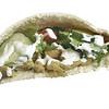 Falafel Waffle Sandwich
