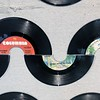 """JENNIFER HUBERDEAU — THE BERKSHIRE EAGLE<br /> """"45 Wave"""" features waves made from 45 records."""