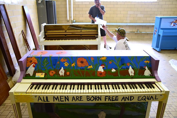 Painted Piano Project - 071618