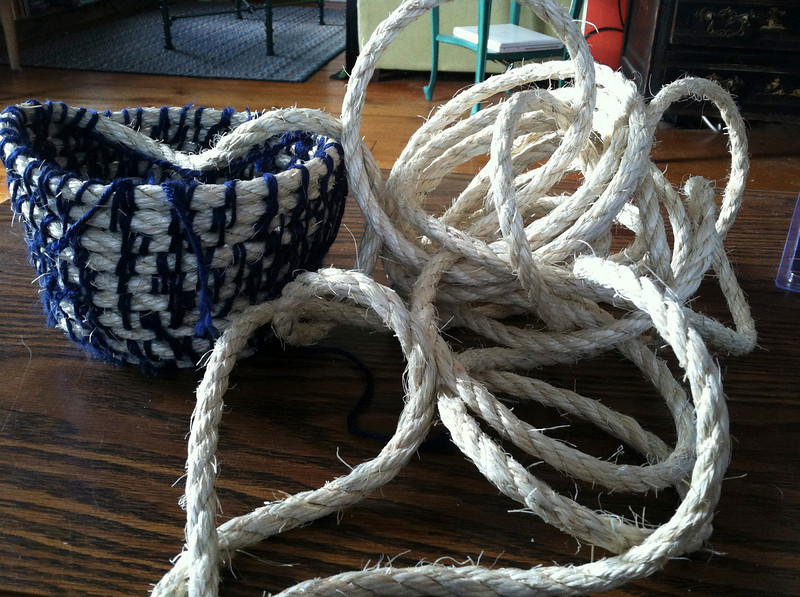 Rope Basket. Photo by Francesca Olsen | Berkshire Eagle Staff.