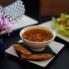 BEN GARVER — THE BERKSHIRE EAGLE<br /> Danielle Dragonetti has opened the Post Eatery and Bar on Railroad Street in Lee, featuring sustainably and humanely sourced comfort food. The soup is a minestrone, The salad based on quinoa. Even the tater tots are organic.