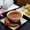 BEN GARVER — THE BERKSHIRE EAGLE<br /> Danielle Dragonetti has opened the Post Eatery and Bar on Railroad Street in Lee, featuring sustainably and humanely sourced comfort food. The soup is a minestrone, The salad based on quinoa.Even the tater tots are organic.