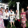 Susan Wissler, executive director of The Mount, Berkshire Botanical Gardens trustees Ramelle Pulitzer, Sherry Kasper, Jo Dare Mitchell, Mary Copeland and Berkshire Botanical Gardens Executive Director Michael Beck. Janel Harrison — Special to the Eagle