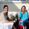Red Lion Inn Controller Sophie Breton and Mary Albertson of Lenox. Janel Harrison — Special to the Eagle