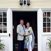 Fête des Fleurs hosts, Ellen and Chris Greendale, welcomed guests into their Stockbridge home, Broad Meadows. Janel Harrison — Special to the Eagle