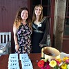 MCLA Intern Katrina McColl and Livestock Many Chloe Geffken at the reservation table Janel Harrison — Special to The Eagle