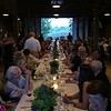 Dinner by candlelight in the 1910 Barn with mountain view. Janel Harrison — Special to The Eagle