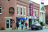 A marquee was installed at Images Cinema on Spring Street in Williamstown on Friday, Dec. 5, 2013. (Gillian Jones/North Adams Transcript)
