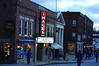 A marquee was installed at Images Cinema on Spring Street in Williamstown on Friday, Dec. 5, 2013. The marquee was all lit up for the Holiday Walk on Saturday. (Gillian Jones/North Adams Transcript)