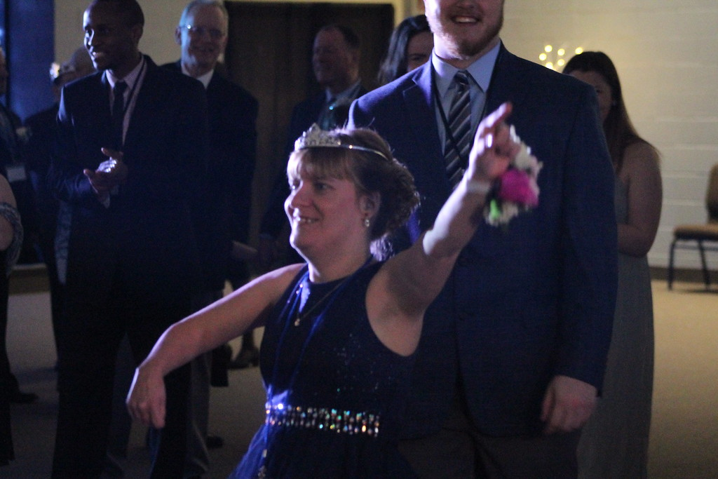 . Prom goers   dazzled the crowds with their dance moves on their night to shine  during the prom  held by Painesville Baptist Church, Feb. 9. Kristi Garabrandt - The News-Herald