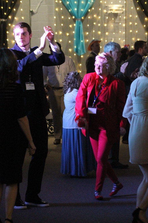 . Special guests  at  the  Prom held by Painesville Baptist Church, Feb. 9, dazzled the crowds with their dance moves on their night to shine. Kristi Garabrandt - The News-Herald