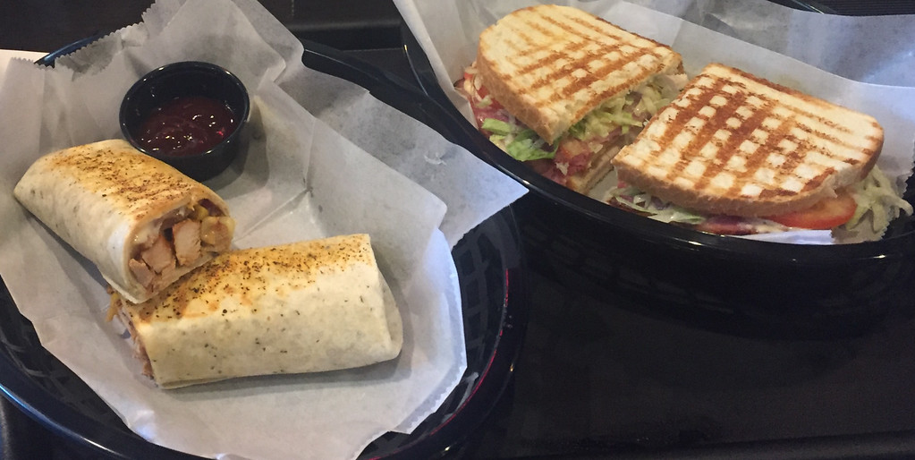 . 1922 Coffee and Brew in Painesville Township offers gourmet sandwiches and wraps for lunch. (Tawana Roberts - The News-Herald)