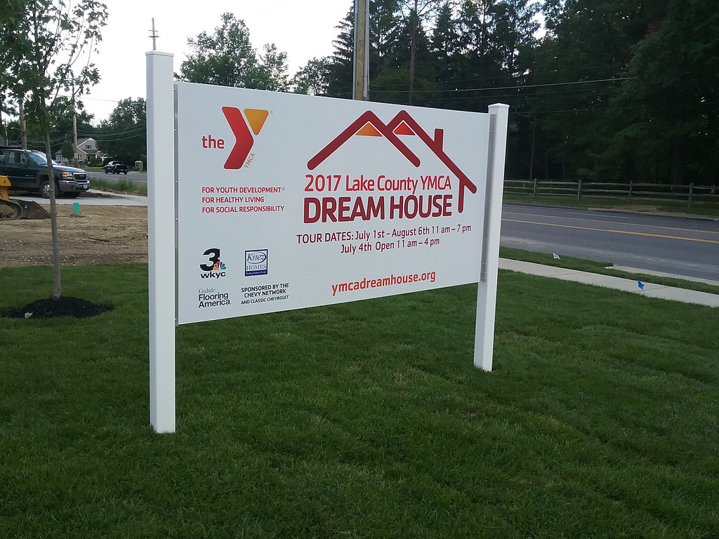 . The 2017 Lake County YMCA Dream House is located on S.O.M. Center Road in Willoughby. It\'s the 24th home constructed for the popular fundraiser. (Jean Bonchak - The News-Herald)