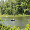 Visitors enjoy boating at Punderson State Park in Newbury Township. (Tawana Roberts - The News-Herald)