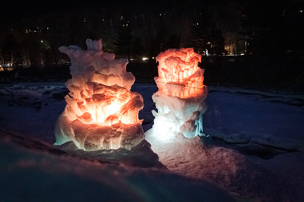 Ice Castles at Loon Mountain (Mar 08, 2014)