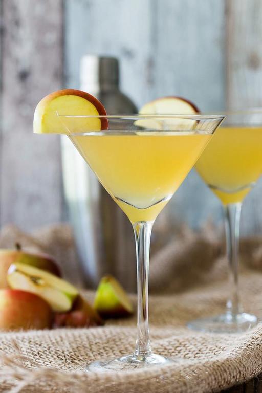 Toffee Apple Martini