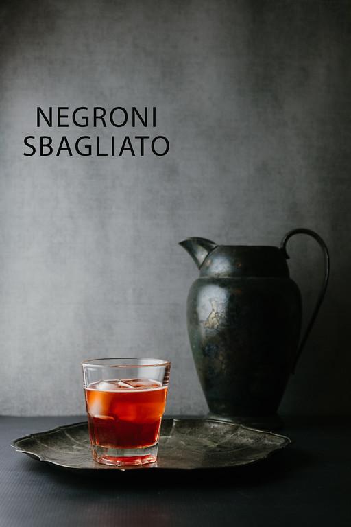 Negroni Sbagliato - sparkling wine, Campari, sweet Vermouth