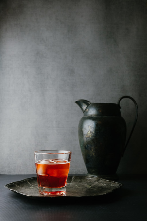 Negroni Sbagliato - sparkling wine, vermouth, and Campari