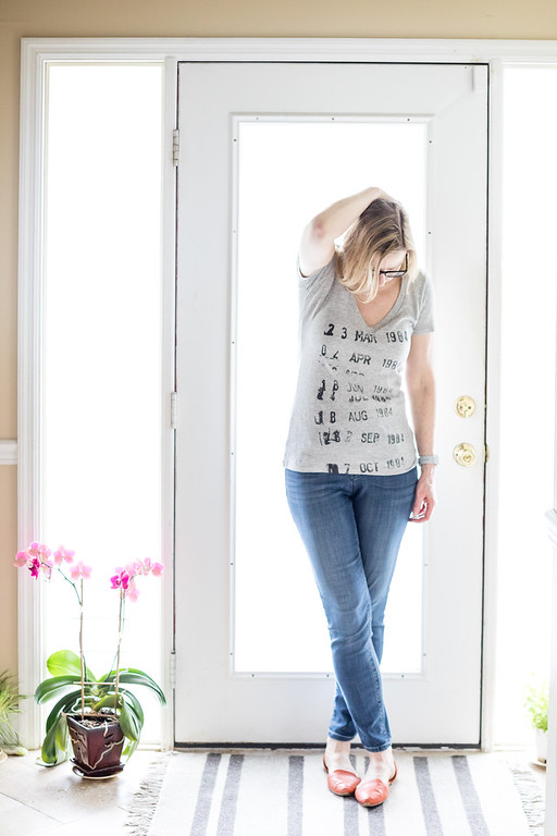 Out of Print Grey T Shirt