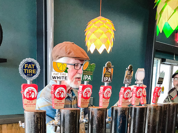 Man behind New Belgium beer taps