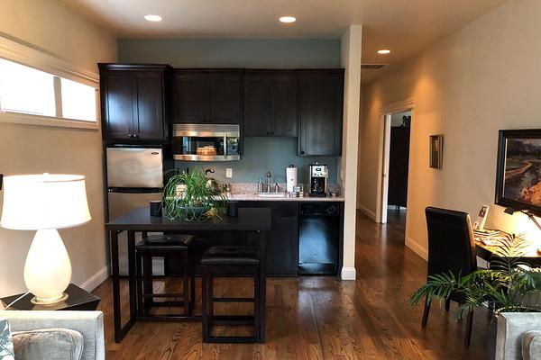 Kitchen at Luna Vista in Elan Guest Suites