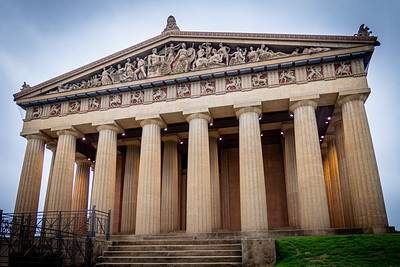 East Entrance of Parthenon in Nashville
