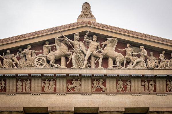 West Pediment of Parthenon in Nashville