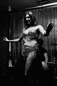 Samarra takes the stage at Belly Dance Beach Party at All Asia Bar (08/23/2008)