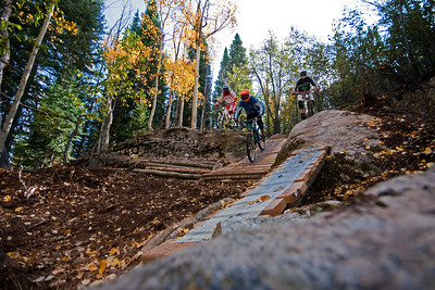 Psycho Rocks trail at Crested butte Mountain Resort