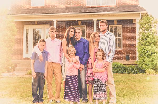 Blended Family~Christine & Justin
