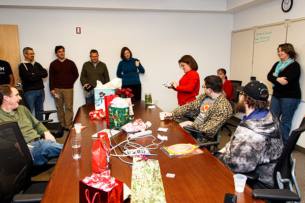 Canonical Holiday Party at Canonical Lexington Office (December 2011)