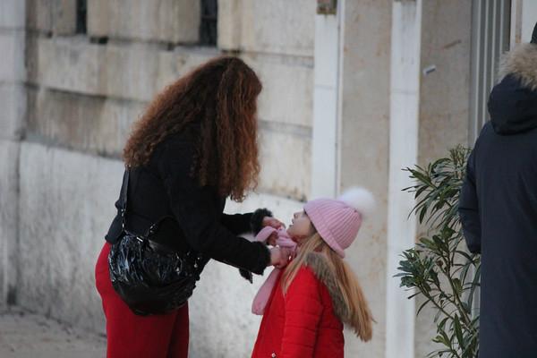 Italy, Verona, Mother and Daughter Italy, Verona