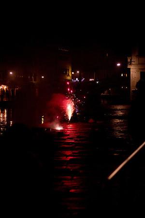 Italy, Venice, New Year's Celebrations SNM