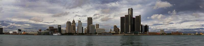 Detroit Skyline 2013