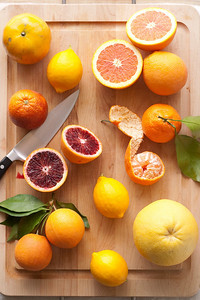 Winter citrus.