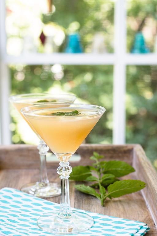 Apple Elderflower Martini