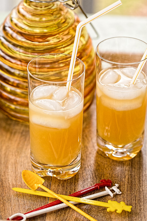 Ginger Beer Cocktails - Orange-Ginger Fizz