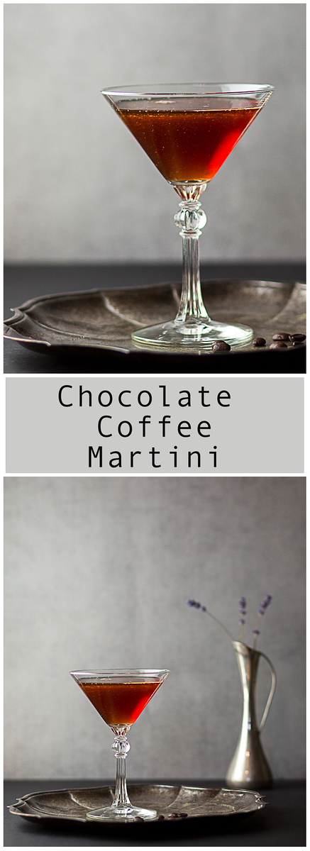 3 ingredient - Chocolate Coffee Martini!!